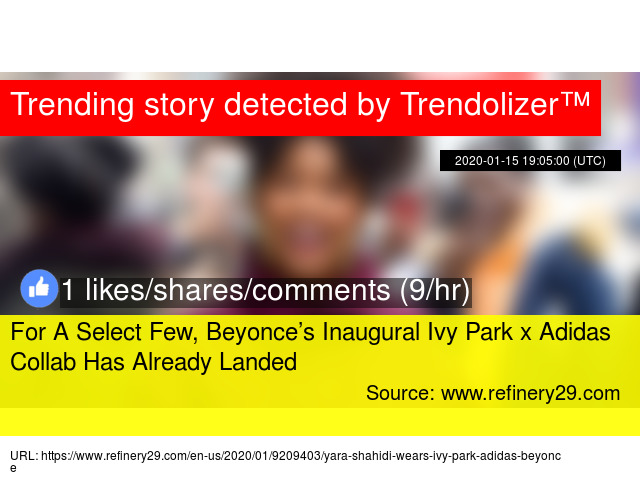 For A Select Few Beyonce S Inaugural Ivy Park X Adidas