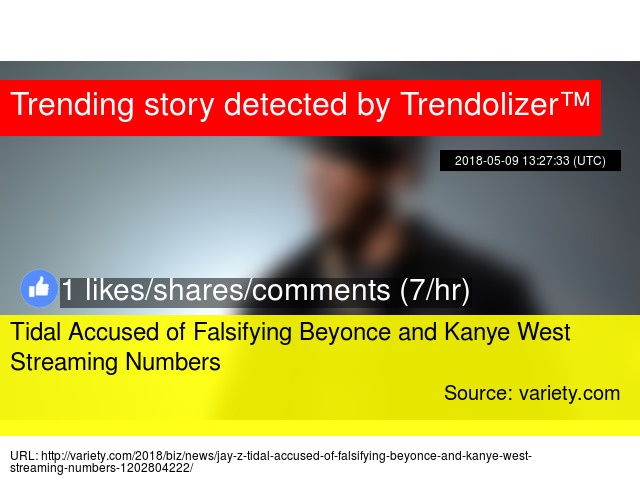 Tidal Accused of Falsifying Beyonce and Kanye West Streaming Numbers