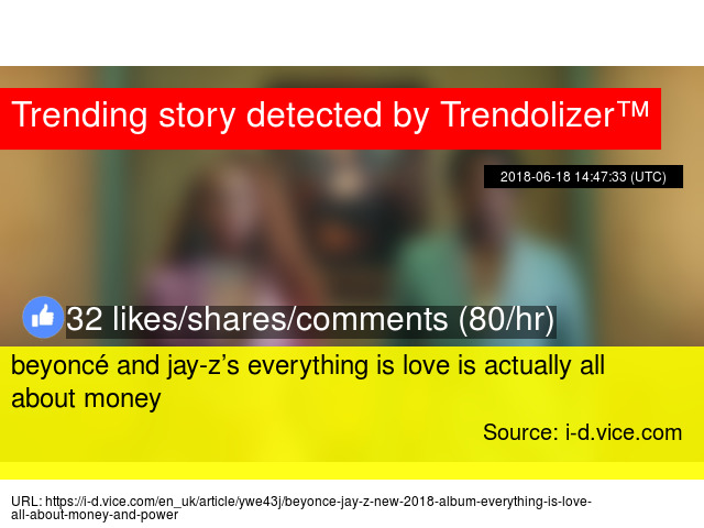 money is everything article