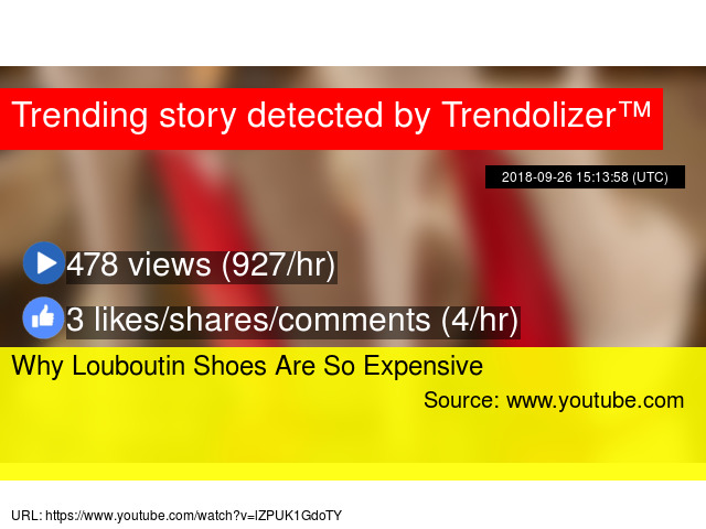 87d9cb208576 Why Louboutin Shoes Are So Expensive