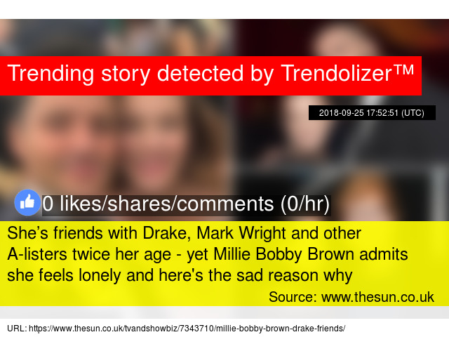 She's friends with Drake, Mark Wright and other A-listers